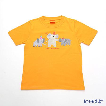 ジムトンプソン 子供服 Tシャツ S(4-7歳) バースデーエリー/オレン・・・