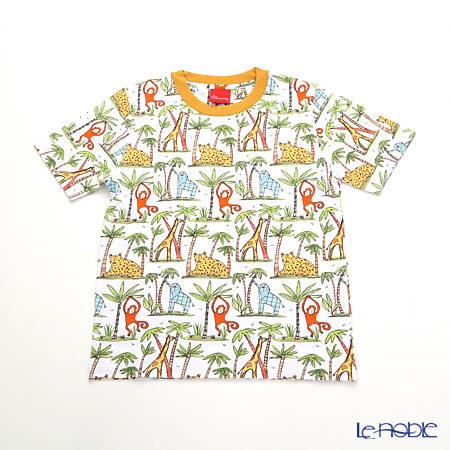 ジムトンプソン 子供服 Tシャツ S(4-7歳) ゾウ/モンキー/チーター/ジラ・・・
