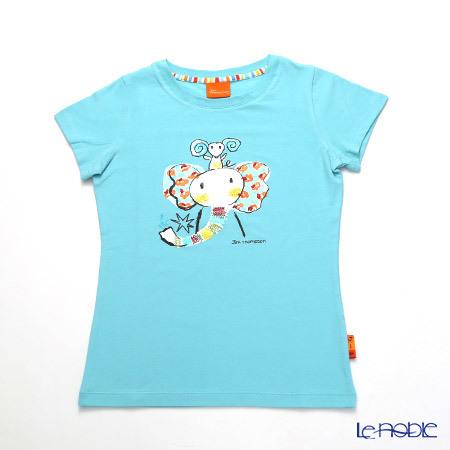 ジムトンプソン 子供服 Tシャツ M(8-11歳) ゾウレインボウ/ターコイ・・・