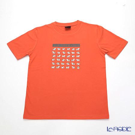 ジムトンプソン 子供服 Tシャツ M(8-11歳) ホワイトゾウ36/オレン・・・