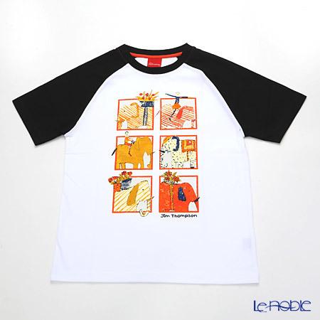 ジムトンプソン 子供服 Tシャツ M(8-11歳) ゾウサファ・・・