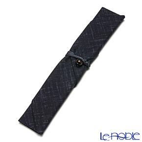 マイ箸袋 染文様 紺