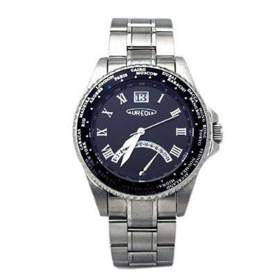 AUREOLE/オレオール AUREOLE (オレオール) 腕時計 ワールドタイムウォッチ SW・・・