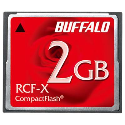 バッファロー コンパクトフラッシュ 2GB RCF-X2G