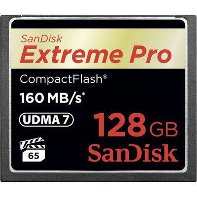 サンディスク SanDiskコンパクトフラッシュ Extreme Pro 128GB 1067倍速 SDCF・・・