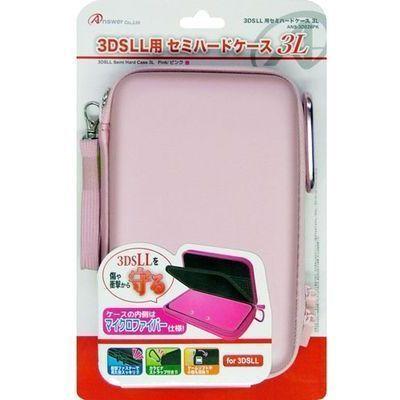アンサー 3DS LL用 「セミハードケース 3L」 (ピンク) ANS-3D026PK ピン・・・