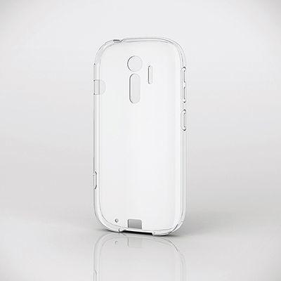 エレコム らくらくスマートフォン4(F-04J)/ソフトケース/極み/クリア PD-F04J・・・
