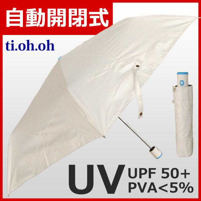 自動開閉傘【9203】UVカット/撥水加工/軽量/男女兼用/晴雨兼用/シンプ・・・