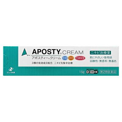 【第2類医薬品】【ゼリア新薬】アポスティー クリーム15・・・