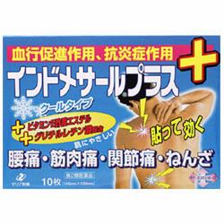 【第2類医薬品】【ゼリア新薬工業】インドメサールプラス 10枚 ☆☆※お取・・・