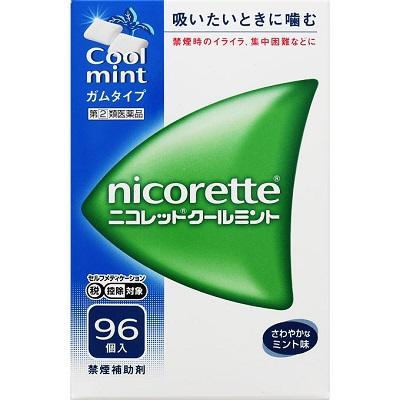【第(2)類医薬品】【武田薬品】ニコレット クールミント 96個 ※お取寄せ・・・