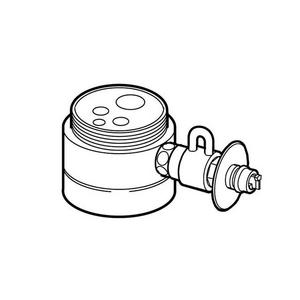 パナソニック【取り寄せ品】食器洗い機用分岐水栓 CB-SMA6★【CBSMA6・・・