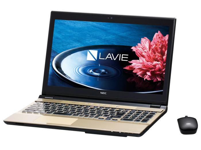 LAVIE PC-NS750EAG ゴールド 特価品