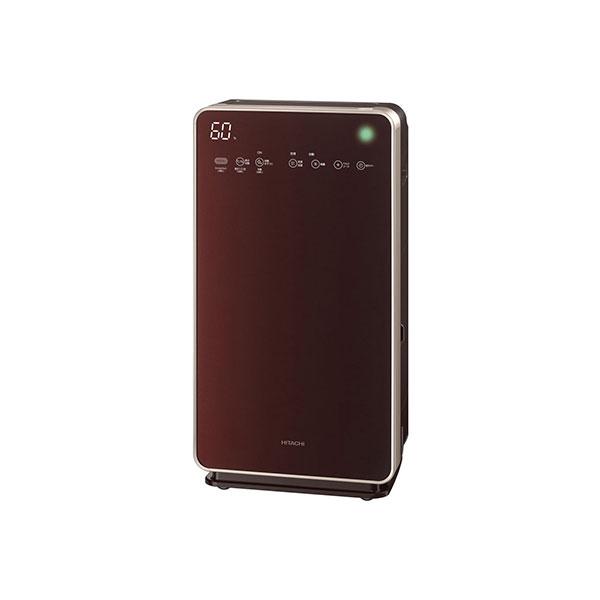 日立 EP-LVG110-T ブラウン クリエア [加湿空気清浄機(空清48畳まで/PM2.5対・・・