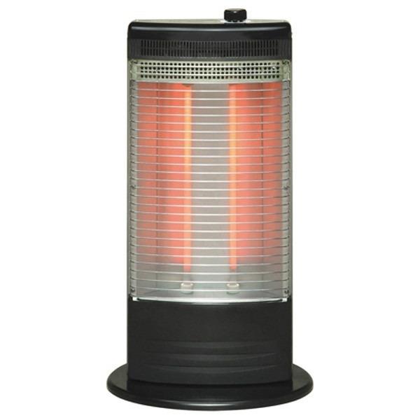 TOYOTOMI EH-Q100F(B) ブラック [赤外線ヒーター (~1000W)] 商品画像1:PREMOA