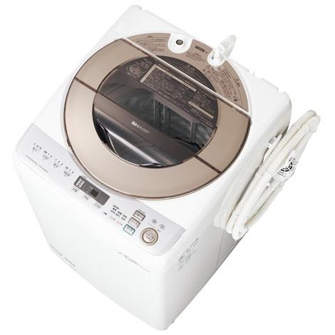 SHARP ES-GV90R-N ゴールド系 [全自動洗濯機(9.0kg)]