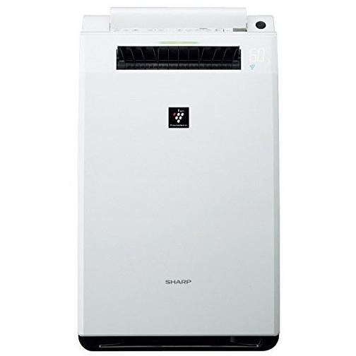 SHARP KI-FX55-W ホワイト系 [加湿空気清浄機 (空気清浄23畳/加湿18畳まで)・・・