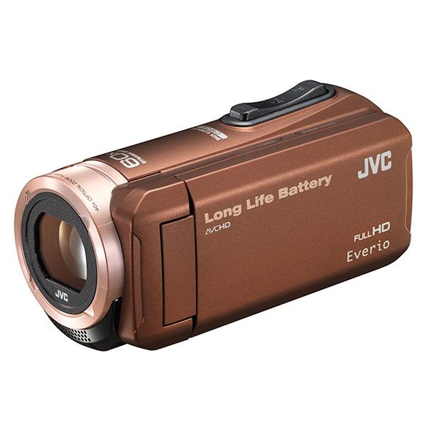 JVC GZ-F100-T ブラウン Everio(エブリオ) [ハイビジョンメモリービデオカメ・・・
