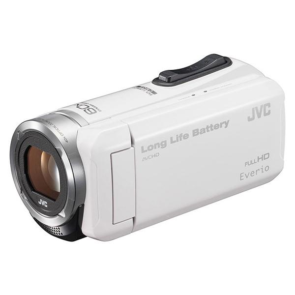JVC GZ-F100-W ホワイト Everio(エブリオ) [ハイビジョンメモリービデオカメ・・・