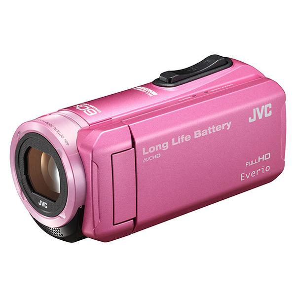 JVC GZ-F100-P ピンク Everio(エブリオ) [ハイビジョンメモリービデオカメラ ・・・