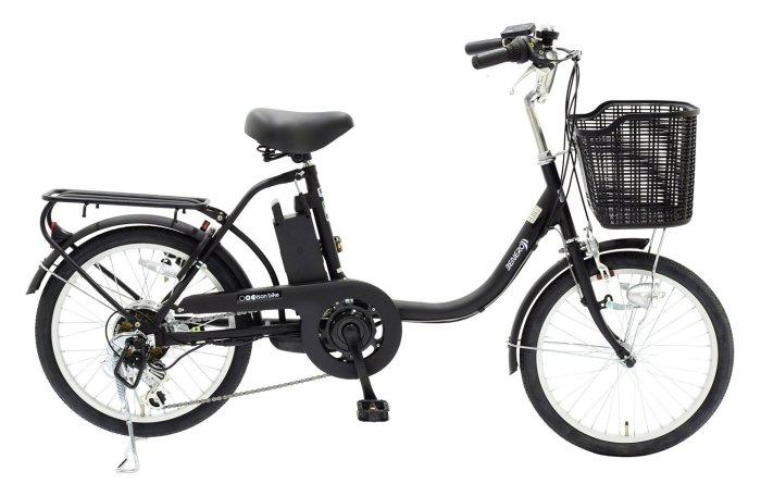 電動アシスト自転車 BENERO206 6Ah ブラック 商品画像1:オンラインショップ プライズ