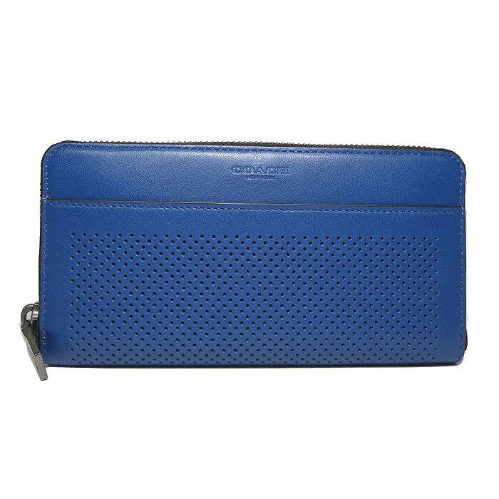 コーチ COACH 財布 F75222 パフォレイテッド レザー アコーディオン ジップア・・・