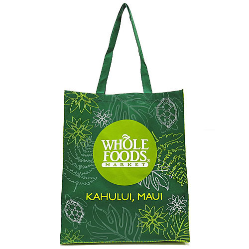【WHOLE-FOODS】ホールフーズ -エコバッグ- KAHULUIMAUI 商品画像1:セレクトAG