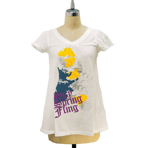 Juicy Couture ジューシークチュール DOLL FOOTBALL TEE Tシャツ  JG00008011・・・