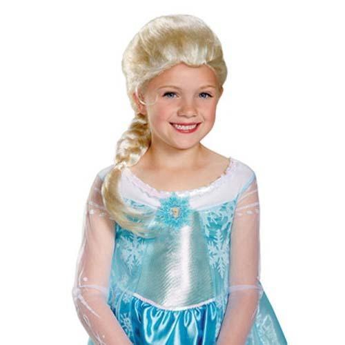 ディズニー DISNEY アナと雪の女王 グッズ エルサ ウィッグ  79354 ハロウィン 商品画像2:セレクトAG