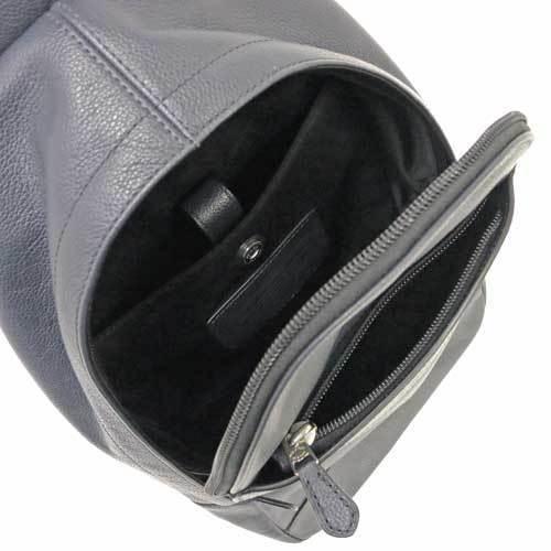 COACH コーチ チャールズ スムース レザー スリング パック ボディー バッグ メンズ  F54770 MID 商品画像3:セレクトAG