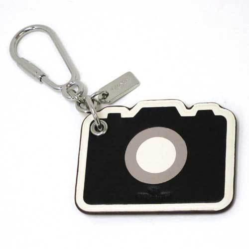 COACH コーチ カメラ レザー キーリング  キーリング / キーホルダー F54913 ・・・