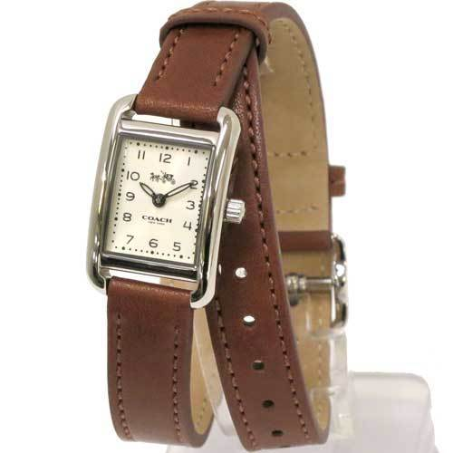 COACH コーチ トンプソン ダブル ラップ レザー レディース  腕時計 1450230・・・