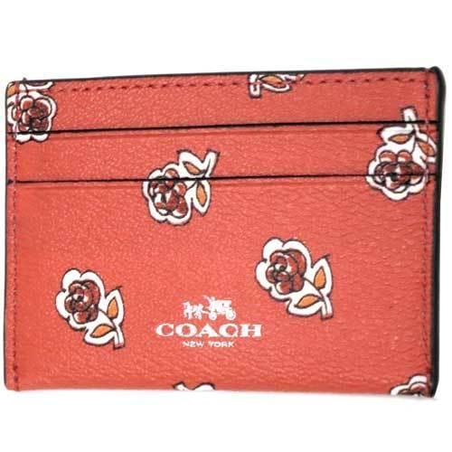 COACH コーチ シエナ ローズ フローラル プリント カードケース  F57226 SVWM・・・
