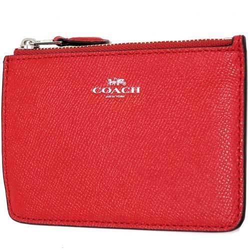 COACH コーチ  クロスグレーン レザー キーリング スキニー / キーケース  F5・・・