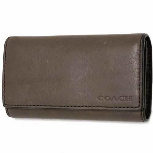 COACH コーチ  ブリーカー レガシー レザー 4連 キーケース / キーホルダー  ・・・