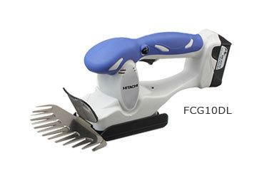 日立 充電式芝生バリカン FCG10DL 10.8v/1.5Ah(BCL1015×1個・充電器付・・・