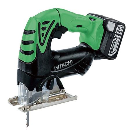 日立 充電式ジグソー CJ14DSL (NN)(L) 緑 (本体のみ:バッテリー・充電器別・・・