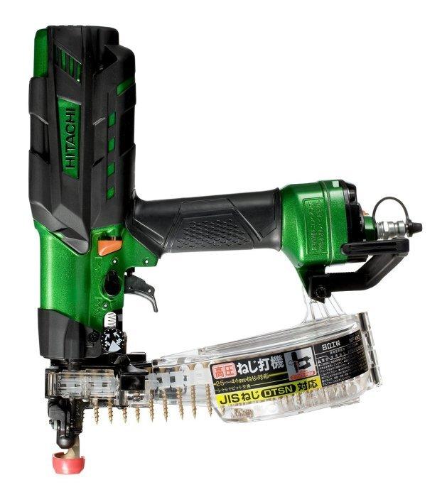 日立 高圧連結ねじ打機 WF4H3 (L) 緑 (ねじ長さ25-41mm)(ケース付)(仕上がり・・・