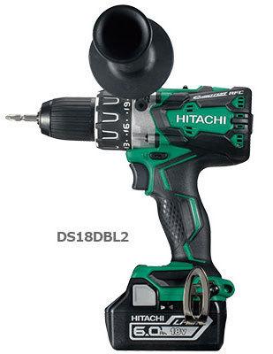 日立 充電式ドライバドリル DS18DBL2 (NN)(本体のみ:バッテリー・充電器別・・・