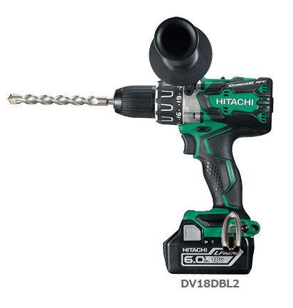 日立 充電式振動ドリル DV14DBL2 (NN)(本体のみ:バッテリー・充電器別売り・・・