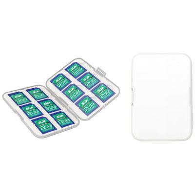 グリーンハウス SDメモリーカードケース GH-CA-SD12W