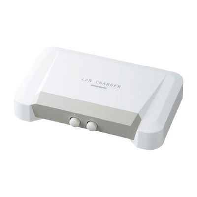 サンワサプライ LAN切替器(2回路) SW-LAN21