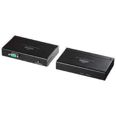 サンワサプライ KVMエクステンダー(USB用・セットモデル) VGA-EXKVM・・・