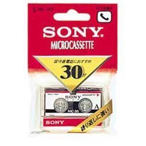 ソニー オーディオ 生テープ MC-30B