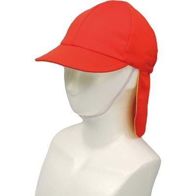 アーテック UVカットたれ付帽子 赤 ATC-2041
