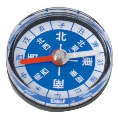 アーテック カラフル方位磁石 30φ黒 ATC-70240