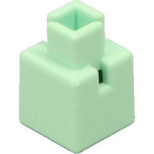 アーテック Artecブロック ミニ四角 20P 薄緑 ATC-77831