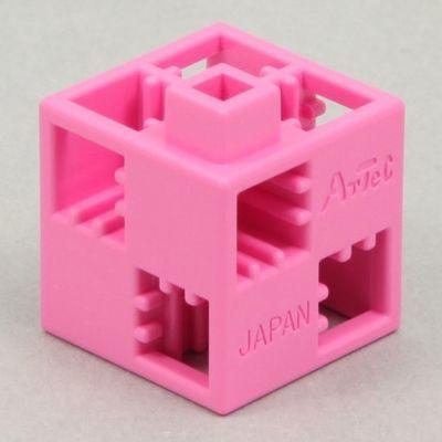 アーテック Artecブロック 基本四角 100P ピンク ATC-77841
