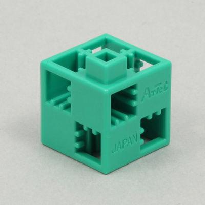 アーテック Artecブロック 基本四角 24P 緑 ATC-77745