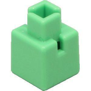 アーテック Artecブロック ミニ四角 20P 黄緑 ATC-77830